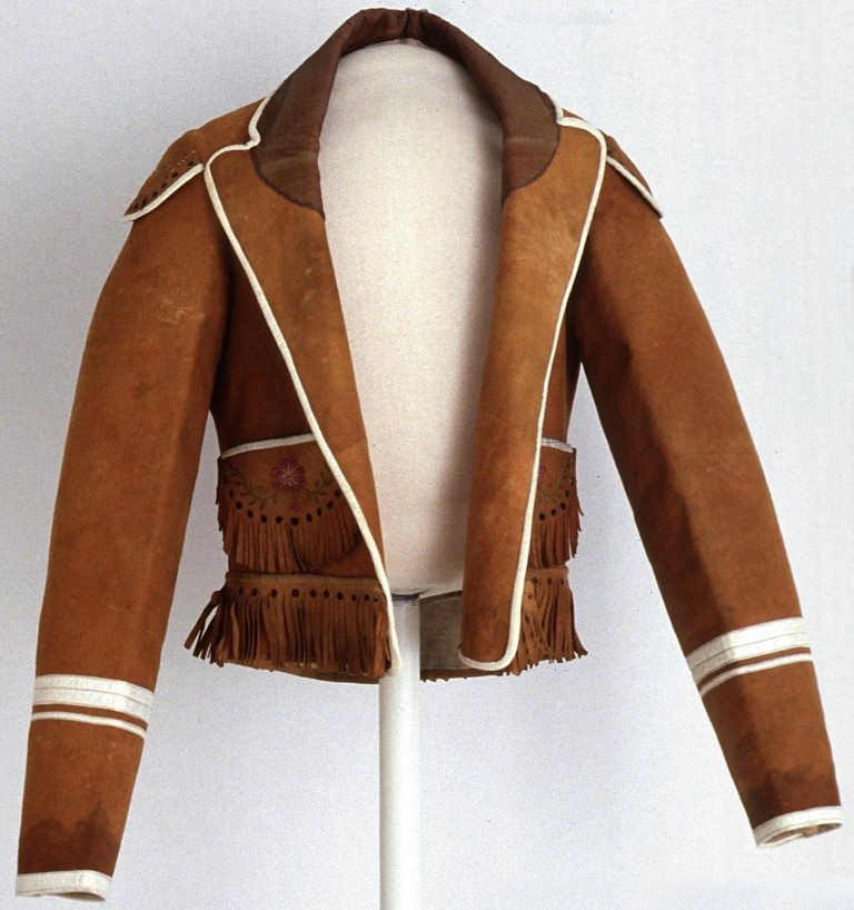 Figure 10a. Mexican cowboy style jacket. Remington Studio Collection. Collection of the Buffalo Bill Center of the West