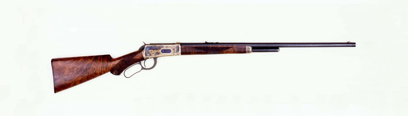 Frederic Remington's Winchester Model 1894 Deluxe Sporting Rifle. Gift of The Coe Foundation. 1.67.335