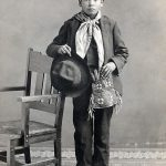 A Treasure from Our West: Photograph, young Nez Perce boy. P.320.230