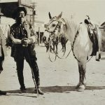 Treasures from Our West: Photograph, Prince Albert I of Monaco with Buffalo Bill in Cody