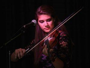 Dan Miller's Cowboy Music Revue: Hannah Miller, fiddle, vocals, mandolin