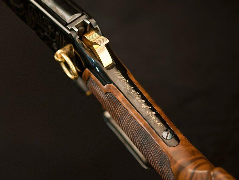 """""""William F. Cody Chief of Scouts"""" on Winchester Commemorative Model 94"""
