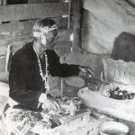 A Treasure from Our West: Photograph, Navajo silversmith. P.71.1894