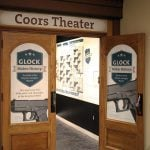 """GLOCK Makes History"" exhibit in the Coors Theater"