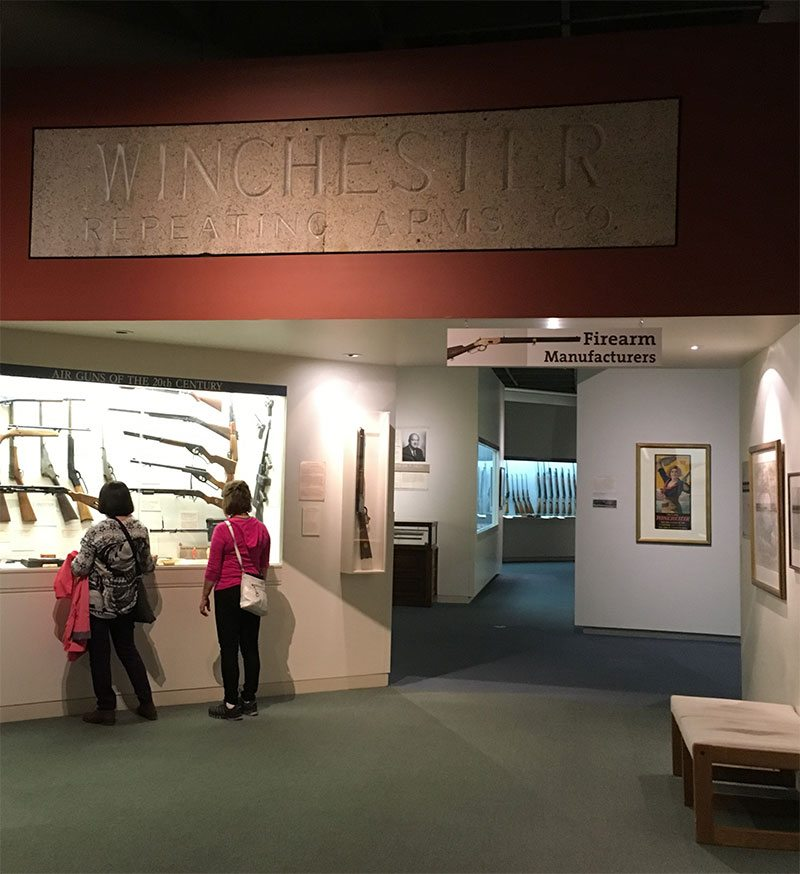 A Treasure from Our West: Winchester factory lintel in the Cody Firearms Museum