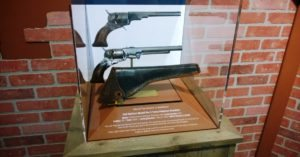 An 1836 Texas Model Colt Paterson now on display in the Cody Firearms Museum. Center of the West photo.