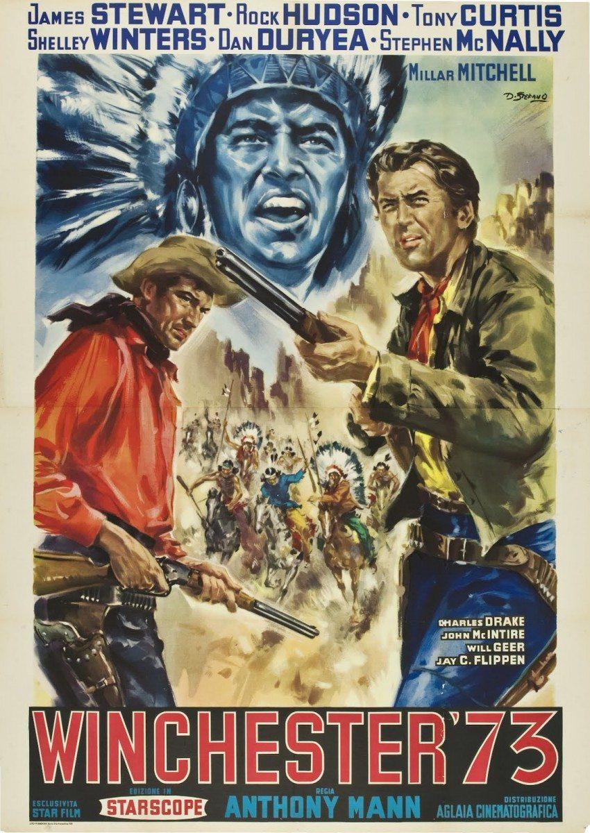Winchester '73, Jimmy Stewart
