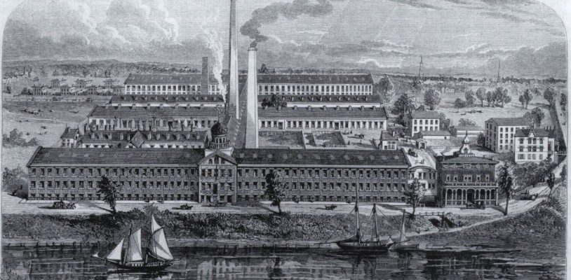 Colt's Patent Firearms Manufacturing Company factory