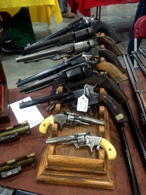 Revolvers, Winchester Gun Show