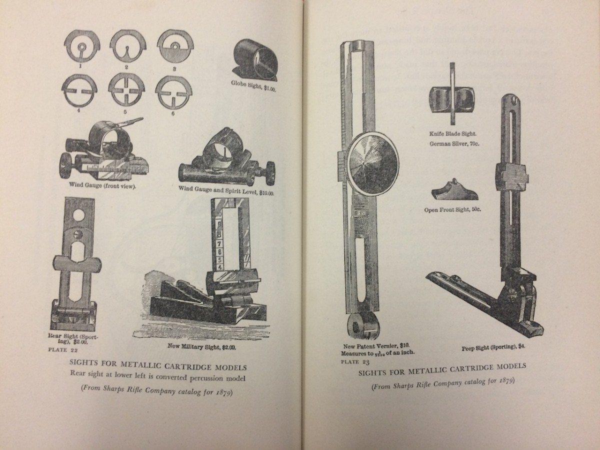 Sights, 1879 Sharps Rifle Company