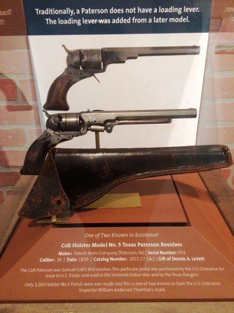 Colt Holster Model No. 5 Texas Paterson Revolver