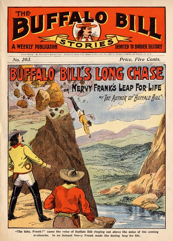 Points West blog 145: Buffalo Bill Stories No. 203 dime novels
