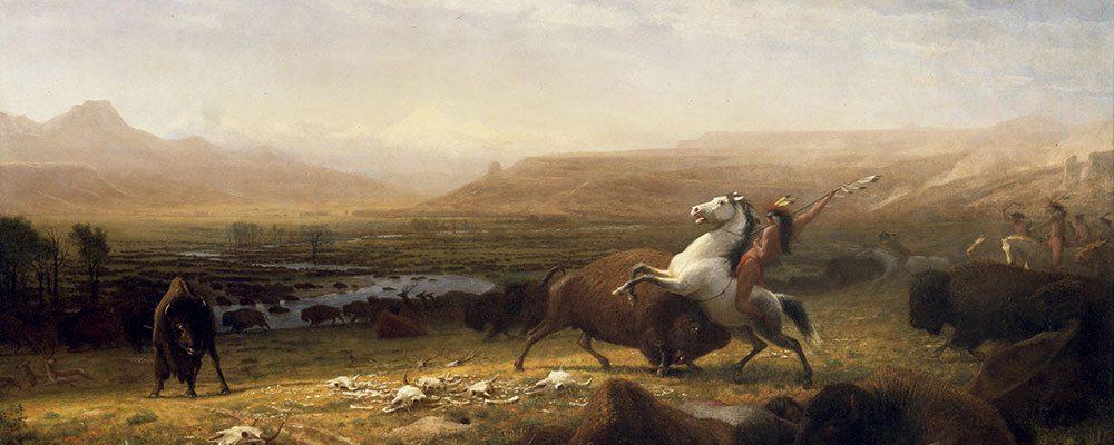 "Highlight 03: Albert Bierstadt's ""The Last of the of the Buffalo."" 2.60"