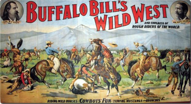 Imagini pentru buffalo bill wild west show