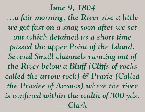 Points West blog 155: pull-out quote, June 9, 1804