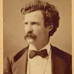 "Samuel Clemens, also known as ""Mark Twain,"" date unknown. Mark Twain Archives, Elmira College, New York."