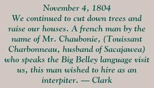 Points West blog 156: Clark quote