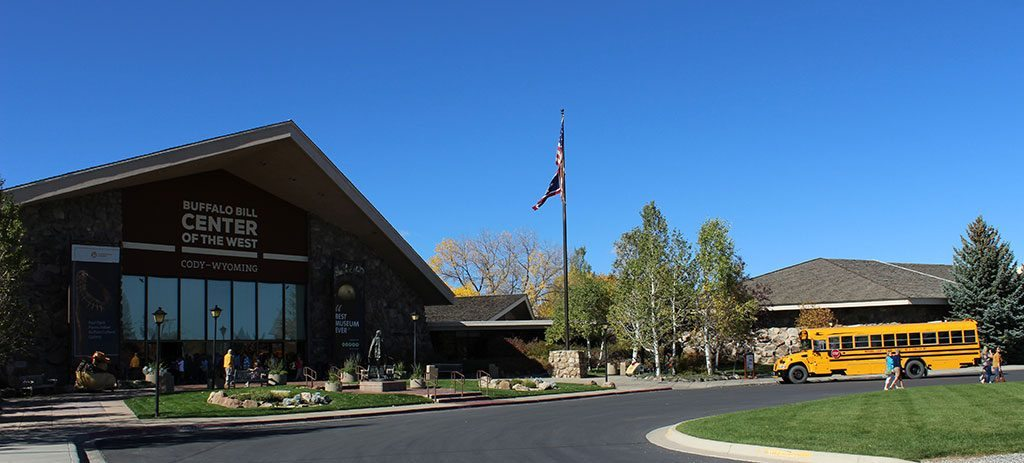 Park County, Wyoming, schools enjoy free field trips to the Center.