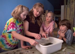 Hands-on activities are a big part of our Museum Adventures.
