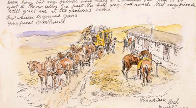 Friend Perc, March 27, 1920. Watercolor and pen and ink on paper. Gift of William E. Weiss. 105.60