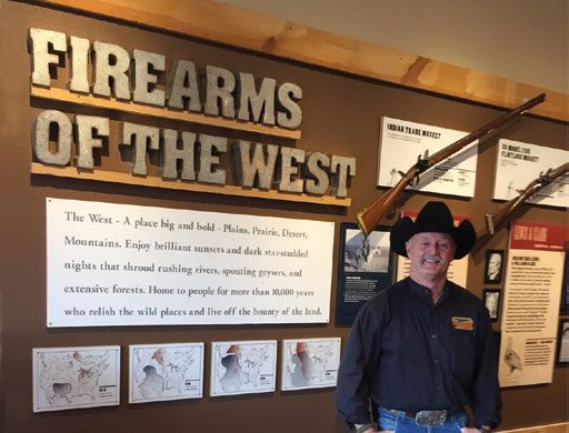 Paul Brock, along with Ashley Hlebinsky, presents The Evolution of the Firearm and the Hunter at the Cody Firearms Experience for the March 16 Cody Culture Club program. Photo courtesy of Cody Firearms Experience.