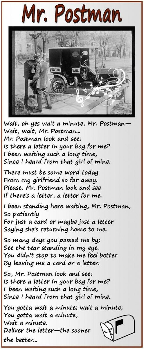 Mr Postman Is there a letter for me Buffalo Bill Center of
