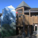 The Center's western-themed playground.