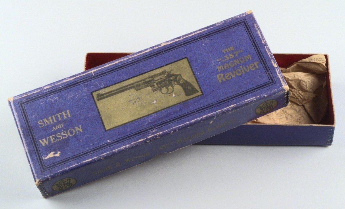Smith & Wesson .357 Magnum Revolver box. 1.69.2793.2