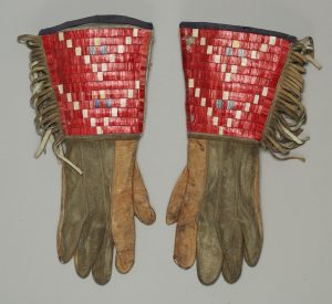 Sioux Quilled Gauntlets