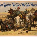 "Treasures from Our West: Buffalo Bill's Wild West ""Cowboys & Indians"" poster"
