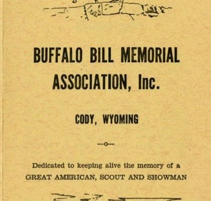 Buffalo Bill Memorial Association pamphlet