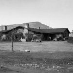 Original Buffalo Bill Museum in Cody, Wyoming, now the home of the Cody Country Chamber of Commerce. MS6 William F. Cody Collection. PN.228.076