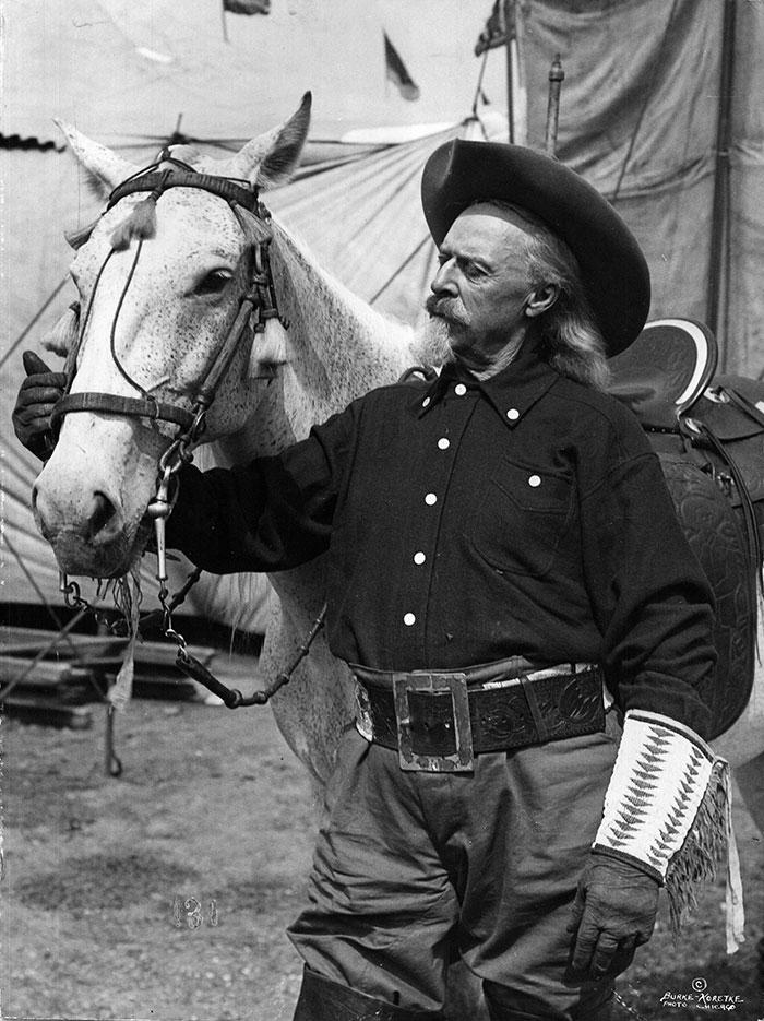William F. Cody, ca. 1900.