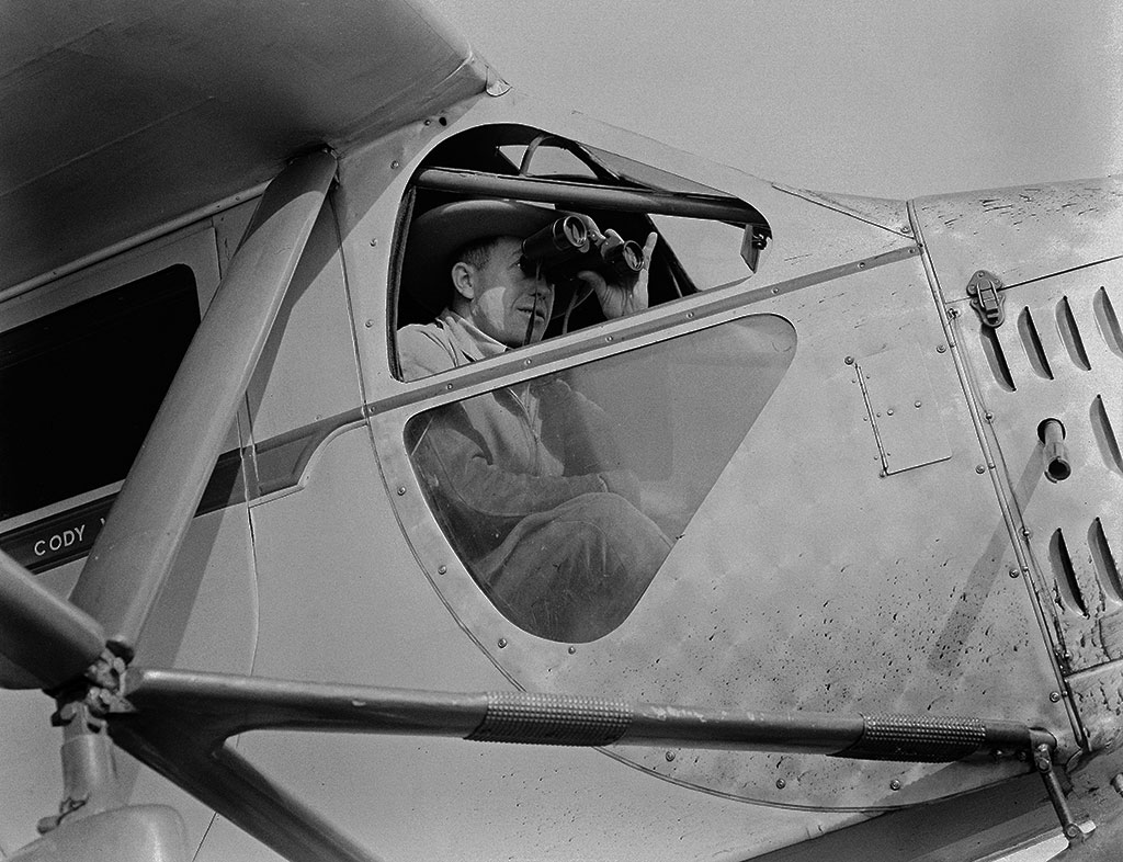 Pilot Bill Monday, 1930-1939. MS3 Charles Belden Collection. PN.67.844