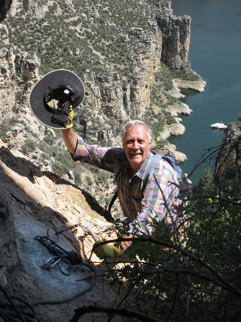 "Larry Loendorf presents ""Bird of Power"" at the August 2, 2018 Lunchtime Expedition lecture."