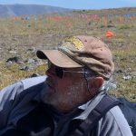 Dr. Larry Todd in the field.