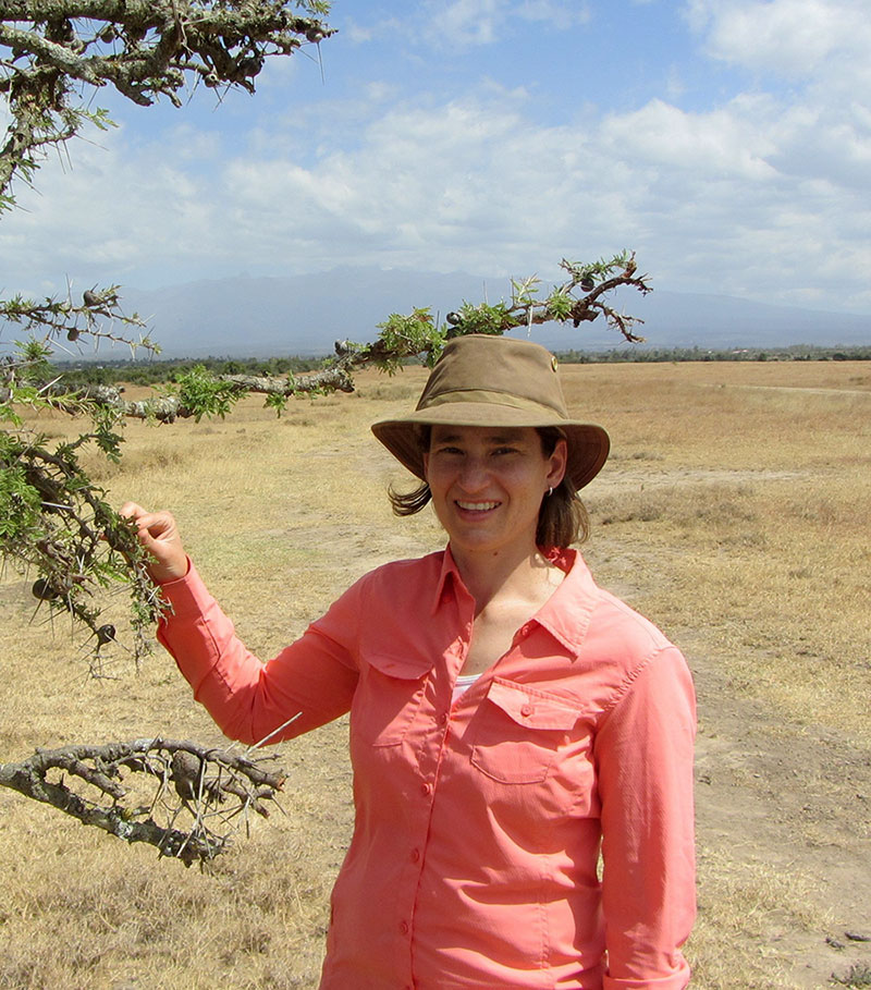 Dr. Corinna Riginos discusses deer and migration barriers a our October 5 lecture.