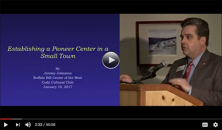 Jeremy Johnston video: Establishing a Pioneer Center in a Small Town