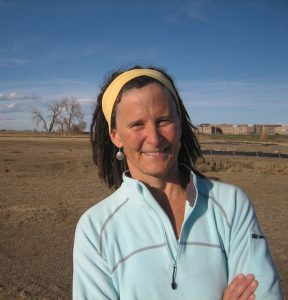 Elizabeth Fenn discusses the history of the Mandan people at a June 14 lecture and book signing.