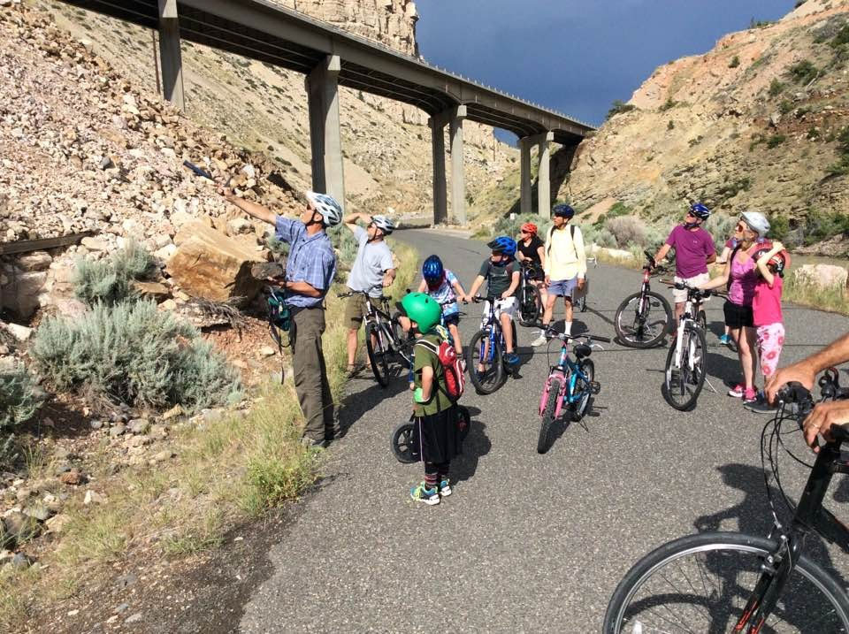 Bike and Rock Talk - for families - August 7, 2018