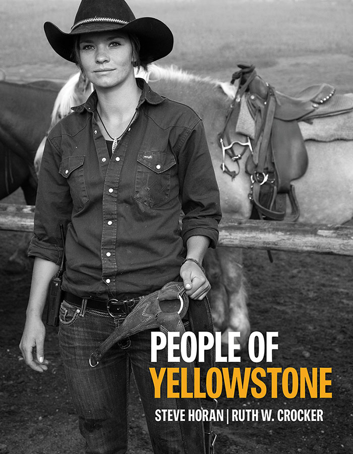 """People of Yellowstone"" book cover."