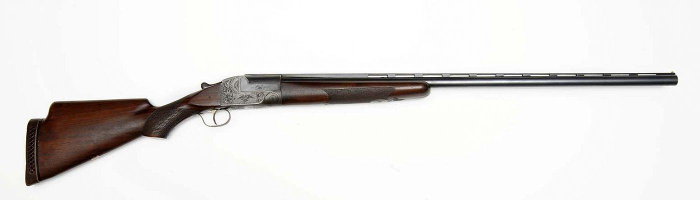 Annie Oakley's Ithaca Grade 4 Shotgun, 1916. Gift of Donald Lawson In Honor and Memory of Joseph L. Box. 2008.10.1