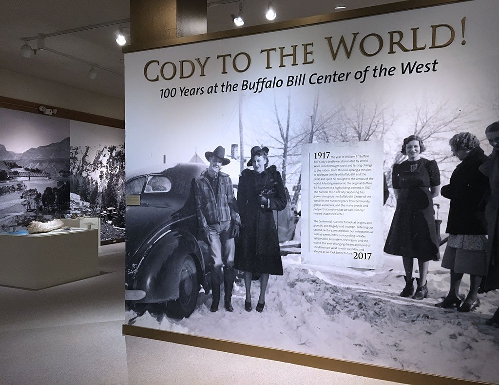 "The special exhibition ""Cody to the World!"" celebrates the Center of the West's Centennial"