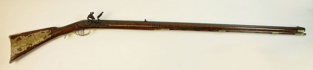 You could win this Kentucky Flintlock .45 rifle in a raffle! Tickets are $10 each or 6 for $50.