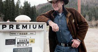 "Robert Taylor as ""Walt Longmire."""