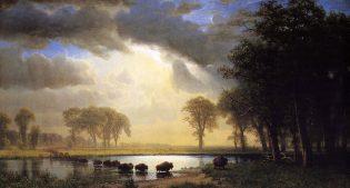 "Albert Bierstadt's ""Buffalo Trail,"" 1867"