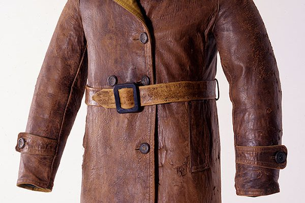 Amelia Earhart flight jacket, ca. 1930. Gift of Carl Dunrud. 1.69.2200
