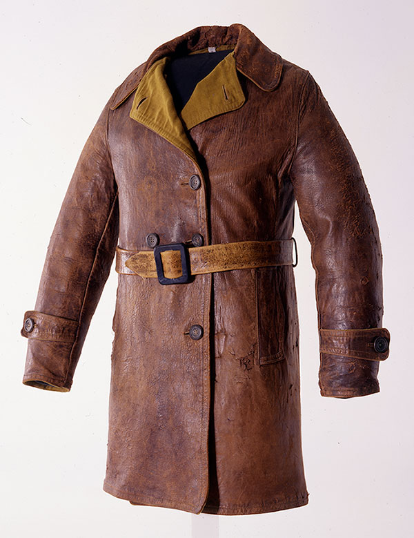 Amelia Earhart flight jacket, ca. 1930. Gift of Carl Dunrud. 1.69.2200