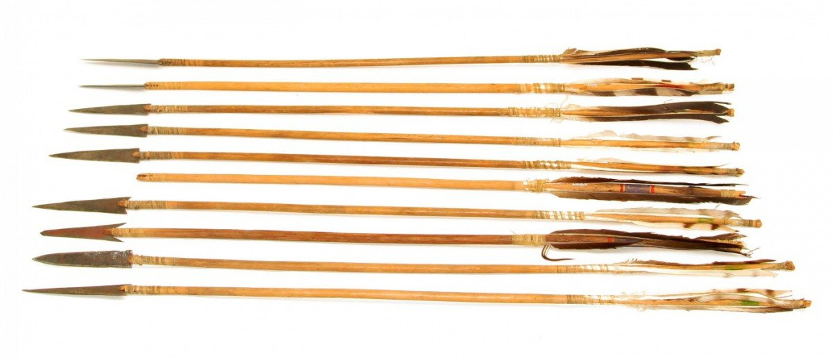 plains indian weapons part i the bow and arrows