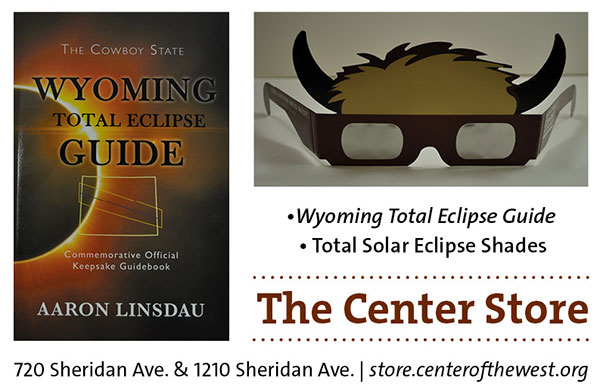 Total Solar Eclipse book and shades at our Museum Store